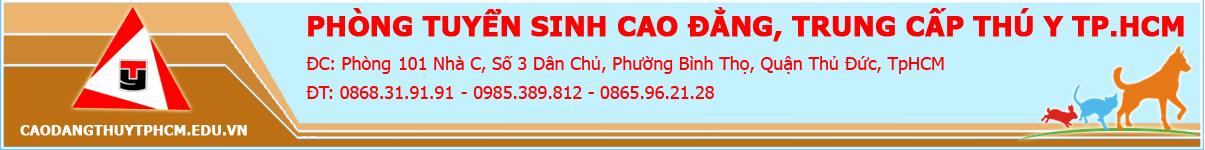 Cao đẳng thú y Hồ Chí Minh